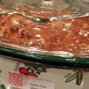 Turkey Chili in a Crock Pot