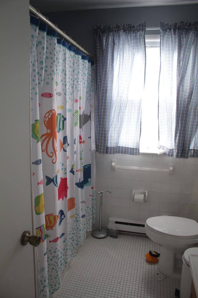 Shower is ready to use!