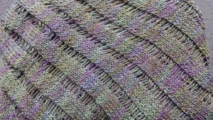 Clapotis Shawl. This is literally one of the most popular patterns in the world. 1 ball.