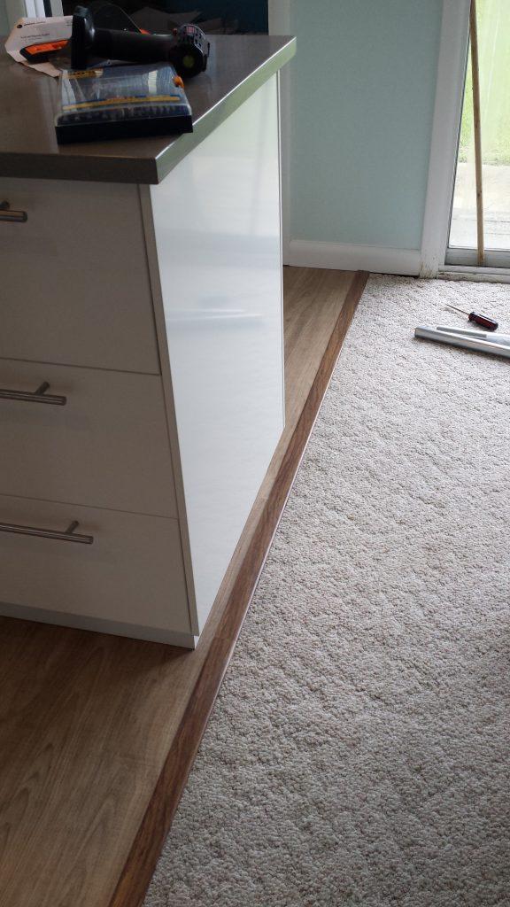 Carpet to Vinyl transition