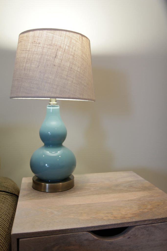 Table lamp from Target