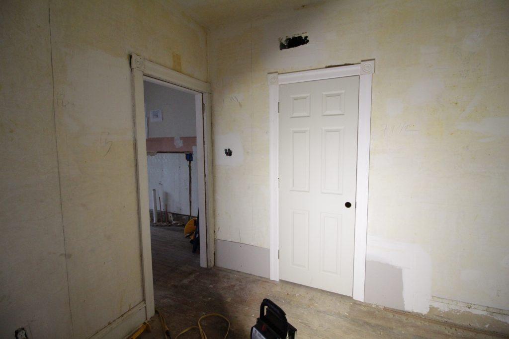 Old and new doorways