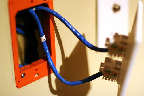 wiring the house for ethernet kellbot kellbot. Black Bedroom Furniture Sets. Home Design Ideas
