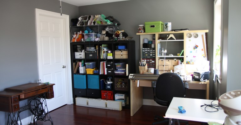 This is what my office looks like clean. No one has ever actually seen this.