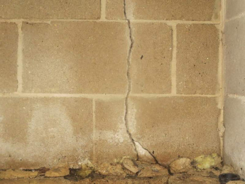This crack could be nothing, or it could be bad news