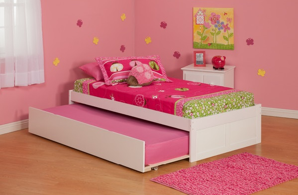 "I got two of this bed, one with a trundle and one with storage, for the ""kids room"" at the shore house."