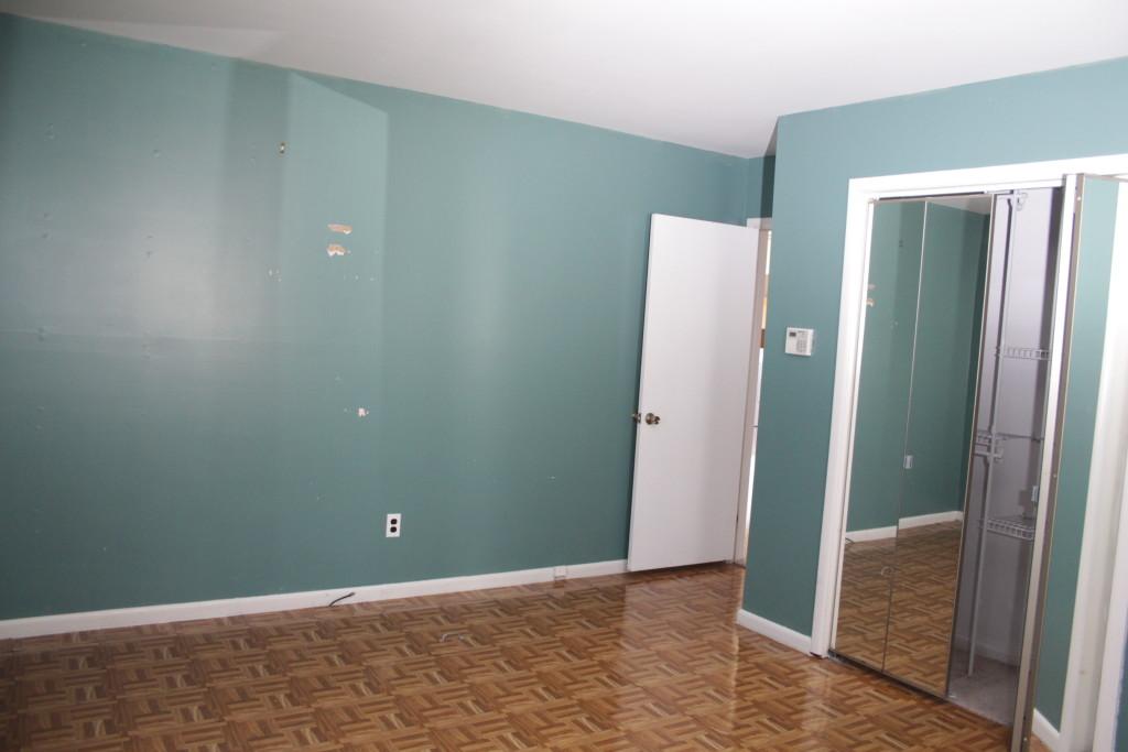 Old fake parquet floor